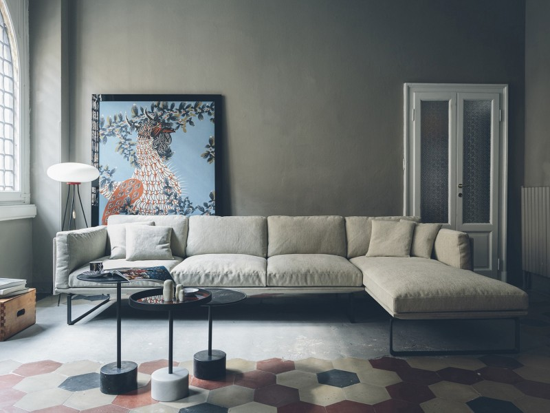 Otto sofa fra Cassina, design: Piero Lissoni